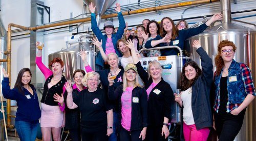 International Women's Day marked locally by female-led collaboration brew
