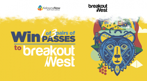 Contest Closed! Win passes to Breakout West 2018 in Kelowna