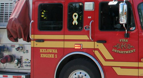 Kelowna RCMP investigating suspicious overnight house fire