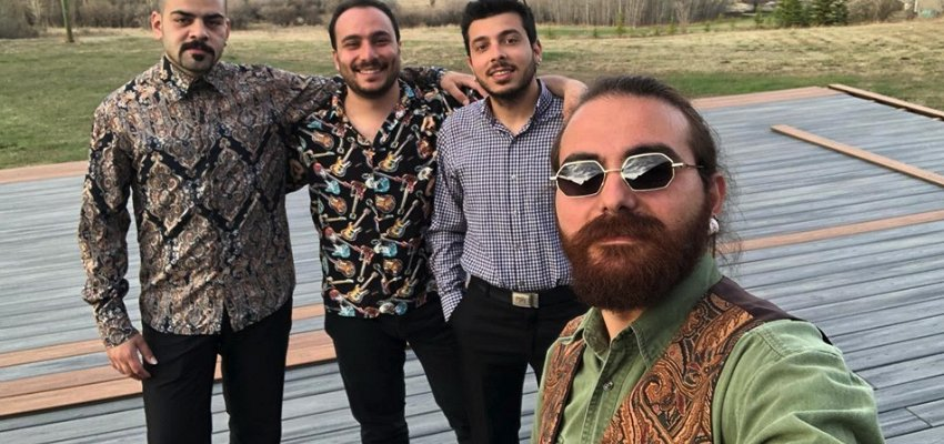 Syrian guitarists who escaped civil war are coming to play in the Okanagan for refugee fundraisers